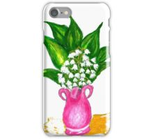 May Lily Painting iPhone Case/Skin