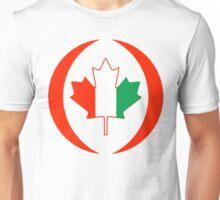 Ivory Coast Canadian Multinational Patriot Flag Series Unisex T-Shirt