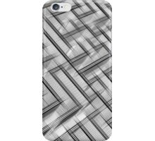 Sketch of a maze iPhone Case/Skin
