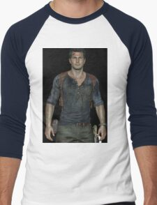 Nathan Drake uncharted Men's Baseball ¾ T-Shirt
