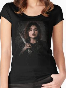 Z nation - Addison portrait Women's Fitted Scoop T-Shirt