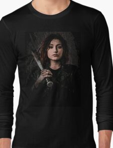Z nation - Addison portrait Long Sleeve T-Shirt