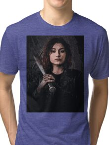 Z nation - Addison portrait Tri-blend T-Shirt