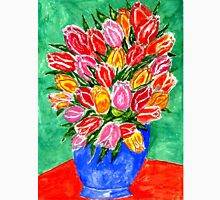 Tulips in a Vase Painting Unisex T-Shirt