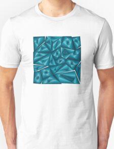 Rotating shapes inside a square structure | Formas que giran dentro de estructura cuadrada T-Shirt
