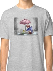 a Child with a Flower Classic T-Shirt
