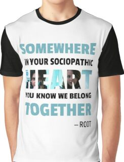sociopathic heart - Root & Shaw Graphic T-Shirt