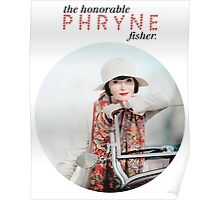The Honorable Phryne Fisher Poster