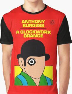 A Clockwork Orange Book Cover Graphic T-Shirt