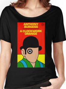 A Clockwork Orange Book Cover Women's Relaxed Fit T-Shirt