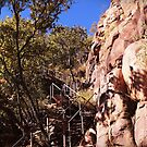 The climb up to Katherine Gorge Lookout by myraj