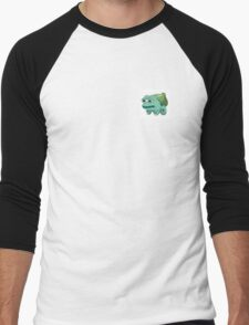 pepe bulbasaur Men's Baseball ¾ T-Shirt