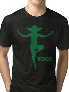 Yoga Yoda Tri-blend T-Shirt
