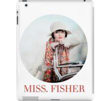 MISS. FISHER iPad Case/Skin