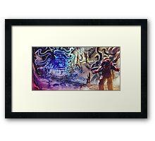 BigBlueHead Framed Print