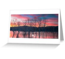 Beauty Dam QLD Greeting Card