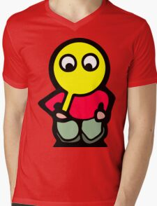 Itoopie Mens V-Neck T-Shirt