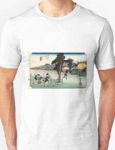 Minakuchi - Hiroshige Ando - 1833 T-Shirt