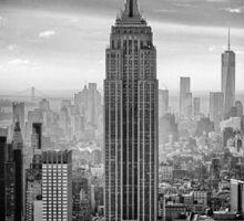 Empire State Building New York Manhattan Skyline Sticker