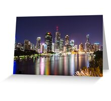 Brisbane City  Greeting Card