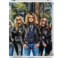 whitesnake band personel wulan iPad Case/Skin