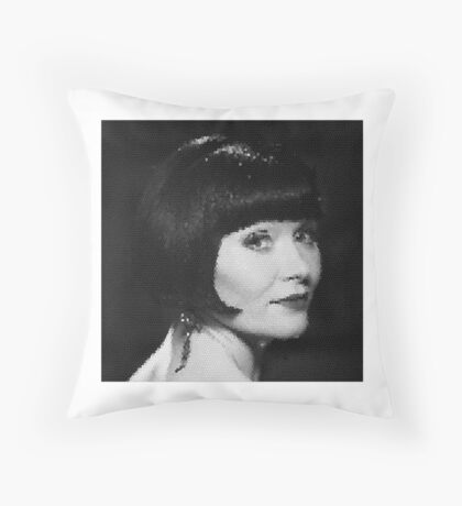 Phryne Fisher  Throw Pillow