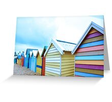 Brighton - Strips Greeting Card