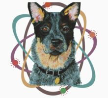 Beaut Australian Cattle Dog One Piece - Short Sleeve