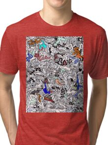 Retro Bodies Tri-blend T-Shirt