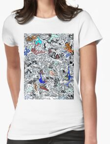 Retro Bodies Womens Fitted T-Shirt