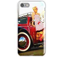 Beetle Pin up Girl iPhone Case/Skin