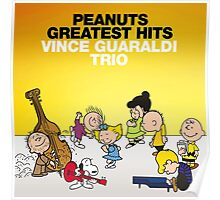 peanuts charlie brown music Poster