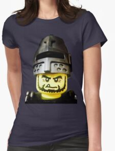 The Frightening Knight is here Womens Fitted T-Shirt