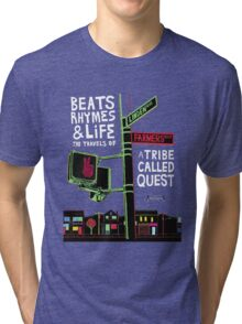 Beats Rhymes Life A tribe Called Quest ATCQ Tri-blend T-Shirt