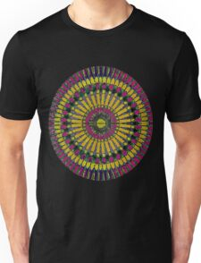 Psychodelic Mandala Unisex T-Shirt