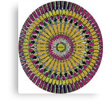 Psychodelic Mandala Canvas Print
