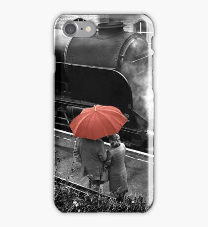 Brief Encounter At The Station iPhone Case/Skin