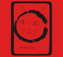 zen kitty-2 Kids Tee