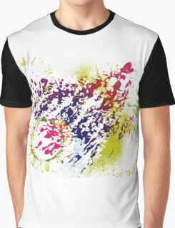 Abstract Excitement Graphic T-Shirt