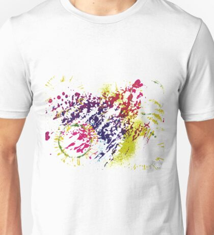 Abstract Excitement Unisex T-Shirt