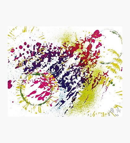 Abstract Excitement Photographic Print