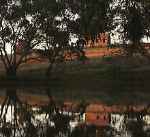 Bogan Weir by myraj