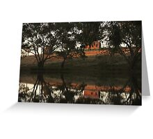 Bogan Weir Greeting Card