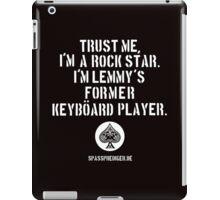 Trust me, I'm a rock star iPad Case/Skin