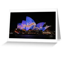 Vivid Opera House 2016 Greeting Card