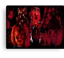 Masters Of All Horrors Canvas Print