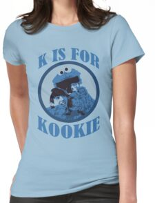 K is for Kookie Womens Fitted T-Shirt