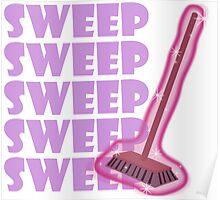 Twilight Sparkle Sweep My Little Pony Poster