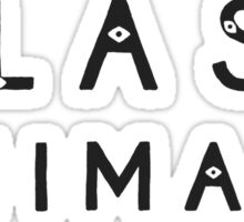 Zaba - Black Sticker
