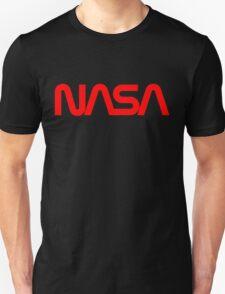NASA 'Worm logo' Unisex T-Shirt